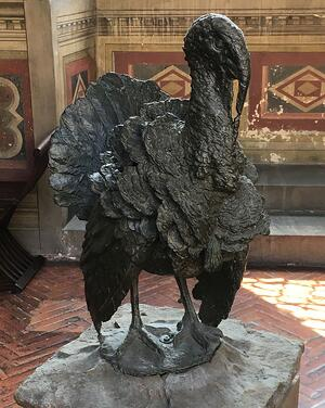 Giambologna Turkey sculpture