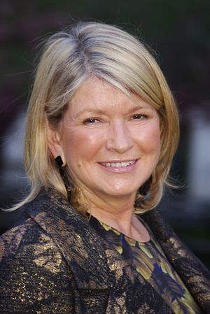 English: Martha Stewart at the Vanity Fair par...