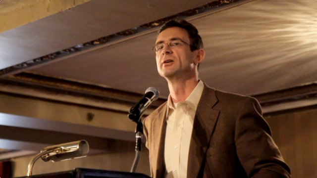Chuck Palahniuk at the Muse and the Marketplace 2011