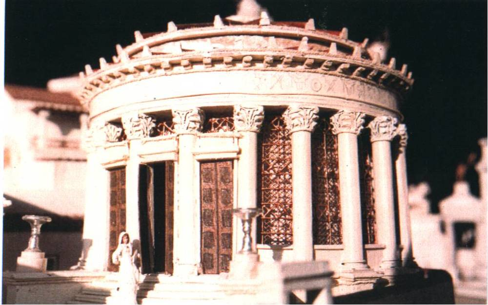The Vesta Aedes, where the Vestal Virgins attend to the sacred fire of Rome.