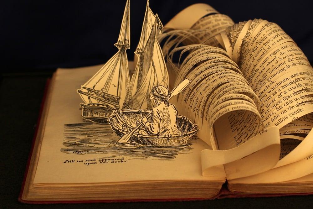 Beautiful Book Art: Justin Rowe